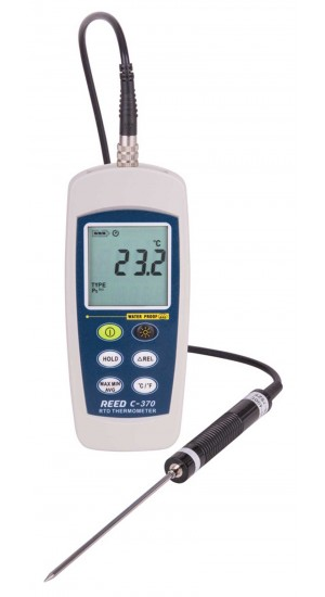REED C-370 RTD Thermometer,